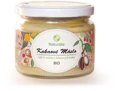 Bio Kakaové máslo 300ml Naturalis