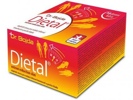 Dietal doplněk pro redukci tělesné hmotnosti 10-denní kůra Dr. Bojda