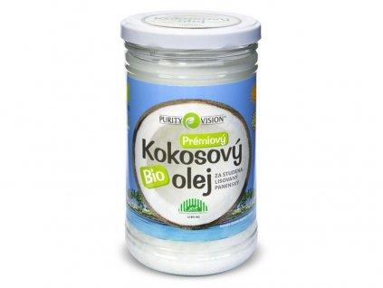 Bio kokosový olej panenský 900ml Purity Vision