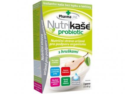 Nutrikaše probiotic s hruškami 180g (3x60g) PharmaLINE