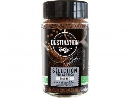 Bio instantní káva 100% arabika Destination 100 g Destination