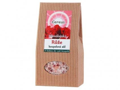 Koupelová sůl růže 500g Cereus