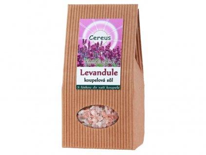 Koupelová sůl levandule 500g Cereus