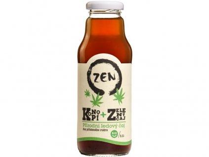 Bio ZEN konopí a zelený čaj 300ml Koldokol