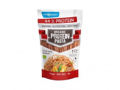 Bio Špagety z červených fazolí adzuki 200g Max sport