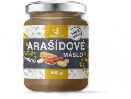 Arašídové máslo jemné 500g Allnature