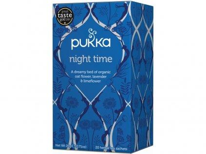 Bio čaj Night time tea Na dobrou noc 20x1g Pukka