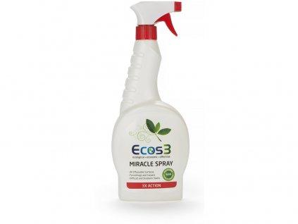 Zázračný spray - Univerzální čistič 750 ml ECOS3