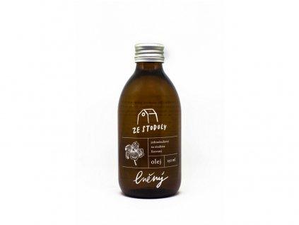 Lněný olej 250ml za studena lisovaný Nominal
