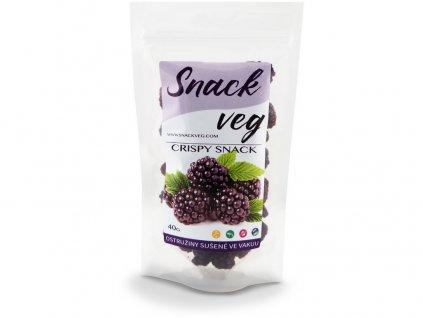 Zdravé ovoce - lyofilizované ostružiny 40g Heathy Snack