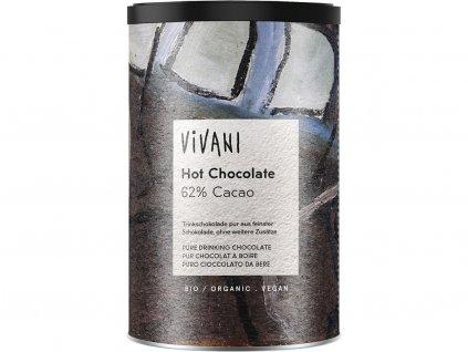 Bio pravá horká čokoláda 280g Vivani