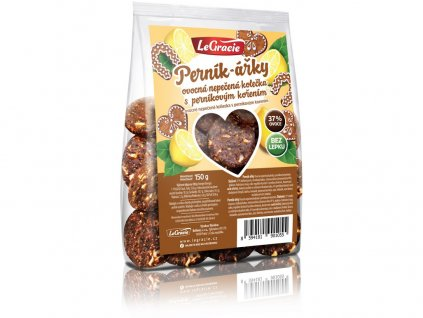 Ovocné nepečené sušenky Perník-ářky 150g LeGracie