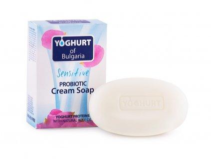 Probiotické mýdlo s růžovým olejem 100g Biofresh