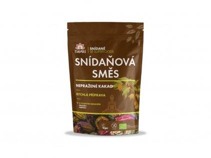 Bio snídaňová směs - Nepražené kakao 300g Iswari