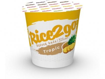Instantní rýžová kaše tropic Rice2go 40g Obezin