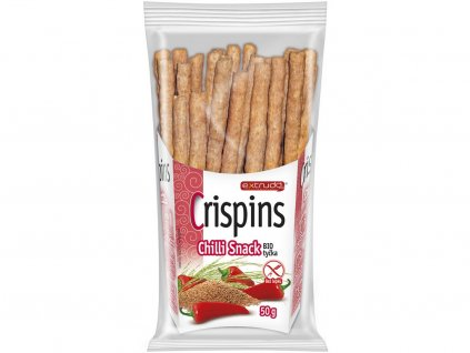 Bio Crispins tyčka Chilli snack 50g Extrudo