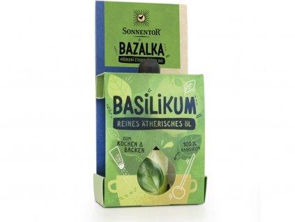 Bio Bazalka 4,5ml Sonnentor
