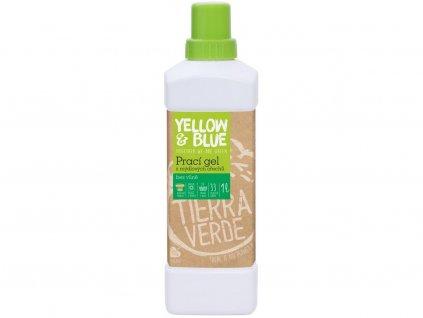 Prací gel bez vůně 1l Tiera Verde