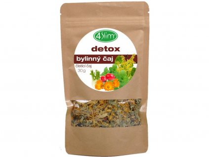 Bylinný čaj detox 30g 4Slim