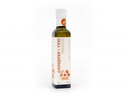 Arašídový olej 250ml Bohemia olej