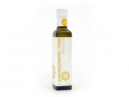 Slunečnicový olej 250ml Bohemia olej