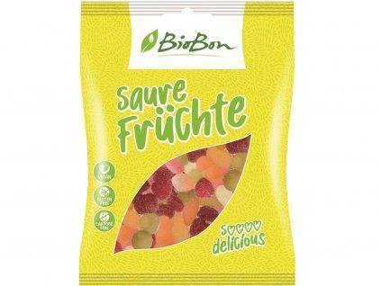 Bio gumové bonbony Kyselé ovoce 100g Bio-bon