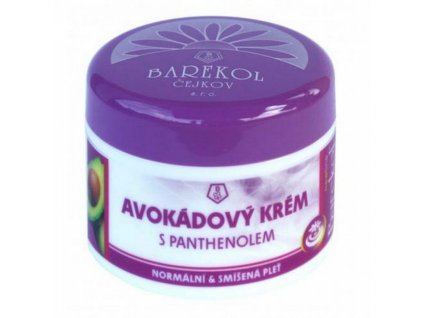 Avokádový krém s panthenolem 50ml Barekol