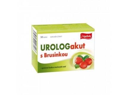 Apotheke Urologakut s brusinkou 30tbl.