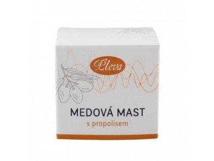 Medová mast s propolisem 20g Pleva
