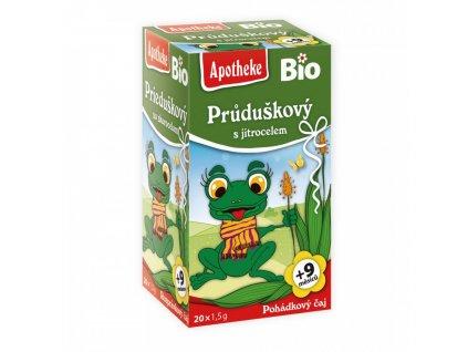 Apotheke BIO Dětský čaj Průduškový s jitrocelem 20x1,5