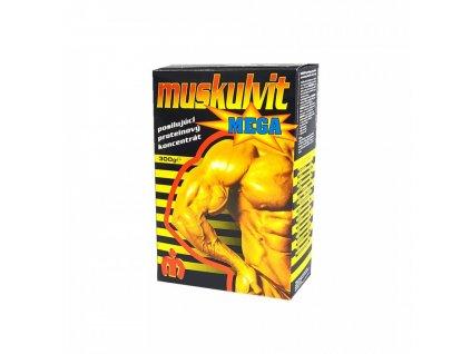 Muskulvit Muskulvit MEGA 70% vanilka 300g