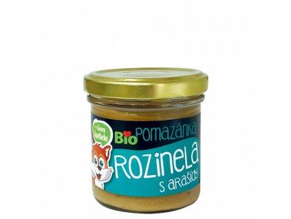Green Apotheke Pomazánka Rozinela s arašídy BIO 140g