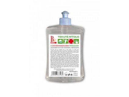 Bohemia Herb Tekuté mýdlo s antimikrobiálními přísadami 500ml