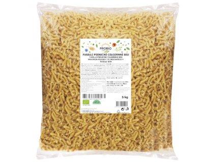 GASTRO - Fusilli pšeničné celozrnné 5 kg BIO PROBIO