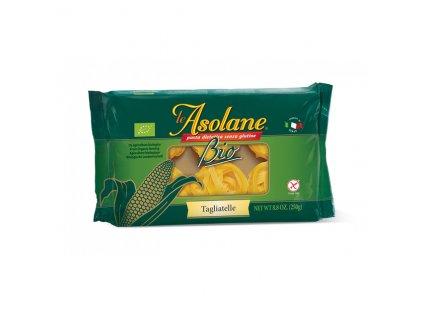 Nudle kukuřičné široké dlouhé BEZLEPKOVÉ (Tagliatelle) 250 g BIO LE ASOLANE