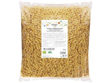 GASTRO - Fusilli pšeničné bílé 5 kg BIO PROBIO