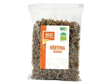 Vřetena pšeničná celozrnná BIO 400 g BIO HARMONIE