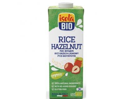 Nápoj rýžový lískooříškový 250 ml BIO  BIO DO VYPRODÁNÍ ZÁSOB ISOLA