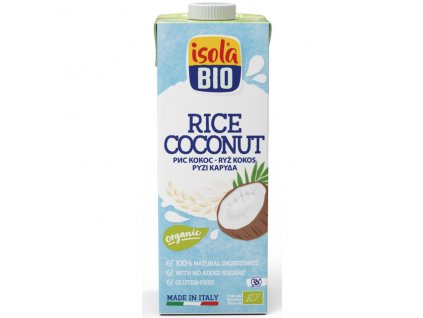 Nápoj rýžový kokosový 250 ml BIO  BIO DO VYPRODÁNÍ ZÁSOB ISOLA