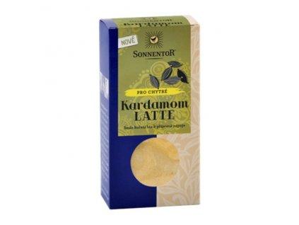 Bio Kardamom Latte 45g krabička (pikantní kořenící směs) Sonnentor