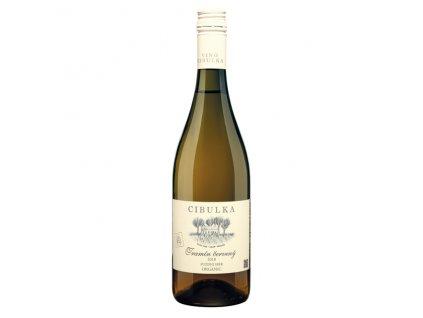 Víno bílé Tramín červený ročník 2018 - pozdní sběr (polosuché) 750 ml BIO VINAŘSTVÍ CIBULKA