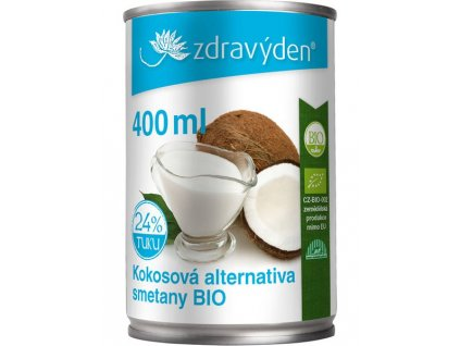 Kokosová alternativa smetany BIO 400ml Zdravý den