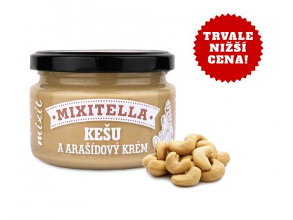 Mixitella - Kešu & arašídy (3 ks) 3x250g