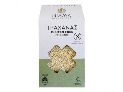 NIAMA Gluten Free Bezlepkové těstoviny trachanas 400g PURE NIAMA