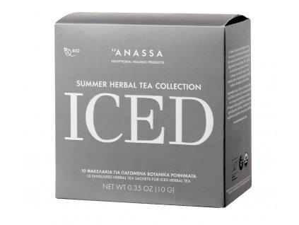Anassa Organic Tea BIO kolekce ICED bylinkových čajů v sáčcích 10g ANASSA