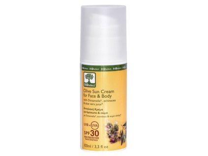 BIOselect® Opalovací krém na tvář a tělo SPF 30 100ml Bioselect®