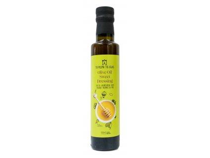 Dressing z olivového oleje s medem 250ml TO FILEMA TIS LELAS