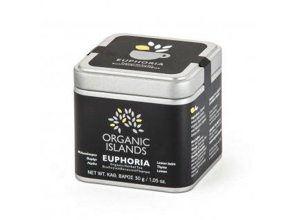 BIO bylinkový čaj EUPHORIA z Naxosu 30g ORGANIC ISLANDS