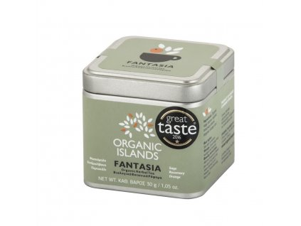 BIO bylinkový čaj FANTASIA z Naxosu 30g ORGANIC ISLANDS