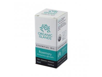 BIO rozmarýnový esenciální olej z Naxosu 10ml ORGANIC ISLANDS